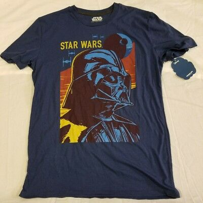 Star Wars Blue Shirt NWT NEW Sith Lord Darth Vader Fifth Sun Mens Medium