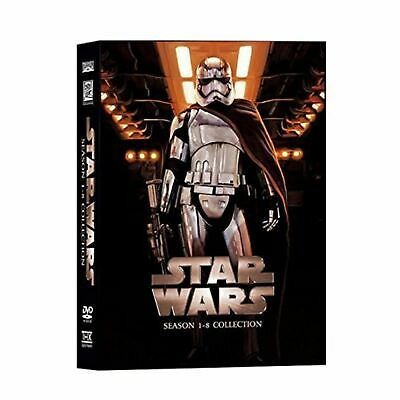 Star Wars The Complete Saga DVD Box Set 14 Disc Episodes 1-8 New Free Shipping