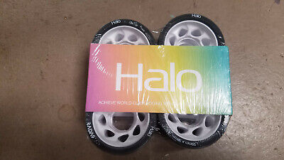 Riedell Radar Halo 99a Wheels 4 pack NIB White