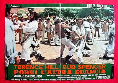 Turn The Other Cheek 1974 Bud Spencer Terence Hill Unique Book Movie Poster # 7