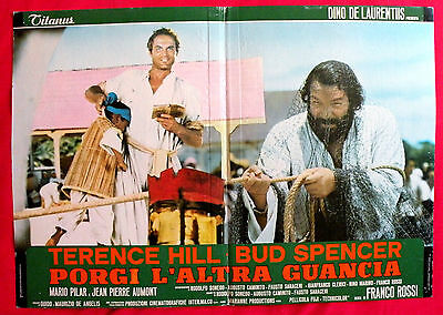 Turn The Other Cheek 1974 Bud Spencer Terence Hill Unique Book Movie Poster # 8