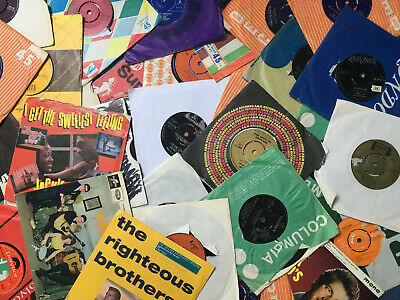 VINYL SINGLES-Record Collection-45s-Job Lot-DJ /JUKEBOX-50s/ 60s LIST £295 each