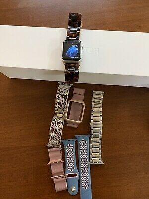 Apple Watch Sport 38mm Aluminum Case With 6 Switchable Bands