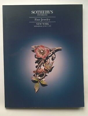Sotheby's Fine Jewelry, New York, June 7, 1995, Auction Catalog