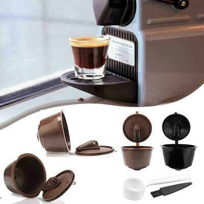 Coffee Capsule Filter Cup Refillable Reuse Dripper Tea For Nescafe Dolce Gusto