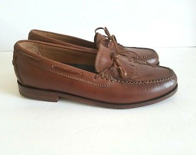 3d90604f3aa COLE HAAN MENS Hand Sewn Pinch Grand OS Brown Leather Slip On Penny ...