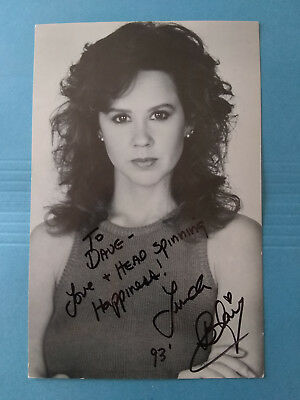 "LINDA BLAIR  > ""The Exorcist"" Signed Autographed 5X8 Signed Photo ! 1993"