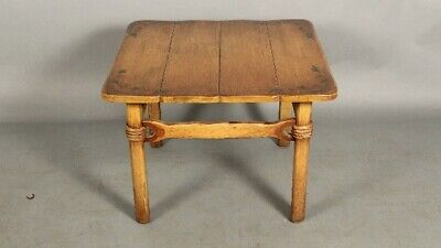 1930's Ranch California Coronado Coffee Table With Rope Details (11728)