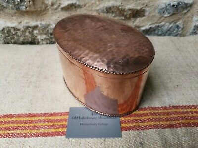 An Unusual Copper Tea Caddy by Cobral