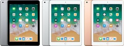 NIB Apple iPad 6th Generation 32GB/128GB WiFi 9.7 inch Retina Silver/Gold/Gray