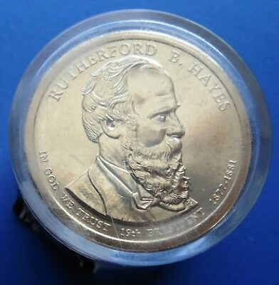 HAYES UNOPENED 2011 P RUTHERFORD B $25.00. UNCIRCULATED PRESIDENTIAL ROLL