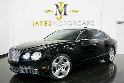 2014 Bentley Flying Spur W12 MULLINER ($225,945 MSRP) 2014 Bentley Flying Spur W12 MULLINER, $225,945 MSRP! BLACK ON SAFFRON, PRISTINE
