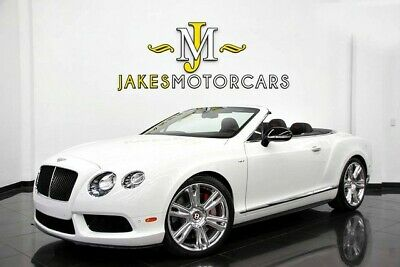 2015 Bentley Continental GT GTC V8 S MULLINER ($247,335 MSRP) 2015 CONTINENTAL GTC V8S~ MULLINER~ $247,335 MSRP!~ ONLY 8600 MILES~ 1-OWNER