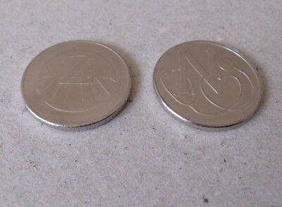 CHEAPEST ON EBAY - 1 x Z & 1 x U - 10p COINS -  A-Z COLLECTORS BRITISH COIN HUNT