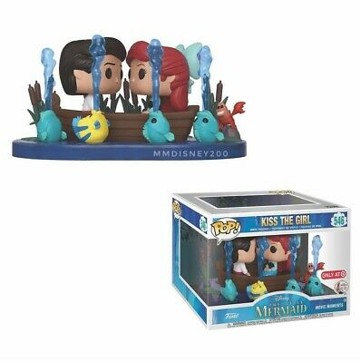 Funko Pop! Movie Moments Little Mermaid Kiss The Girl Target Exclusive PRE-ORDER