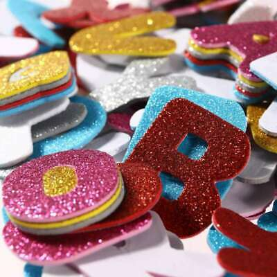 Assorted Colors Glitter Foam Stickers Letter Sticker Self Adhesive Letters Kids