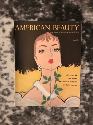 American Beauty - Your Guide to More Glamorous Living July 1956 Vintage Magazine