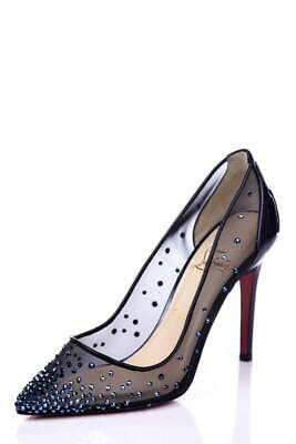 11a4c3f38bed Christian Louboutin Crystal Embellished
