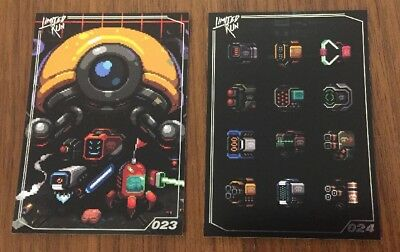 Limited Run Games Trading Card Collection NeuroVoider 023 & 024