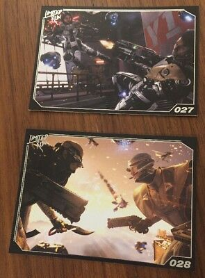 Limited Run Games Trading Card Collection LawBreakers 027 & 028