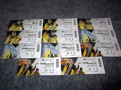 Pittsburgh Penguins vs Capitals TICKET STUB 2018 Playoffs Round 2 Game 3