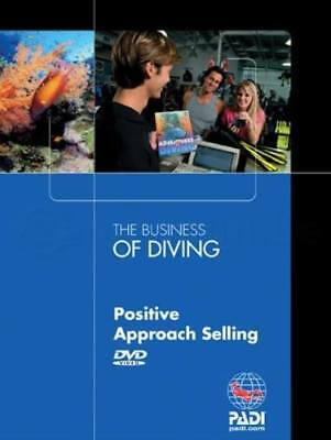 PADI The Business Of Diving - Positive Approach Selling DVD (NEW) Scuba Diving