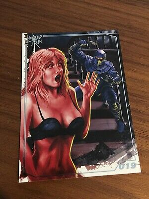 Limited Run Games Trading Card Collection Night Trap 019
