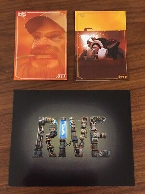 Limited Run Games Trading Card Collection Rive 011 & 012 + Carte