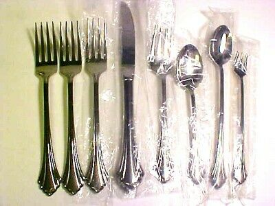 """Oneida REMBRANDT Set of 4 Cocktail Seafood Forks 6/"""" Unused Stainless USA HH"""