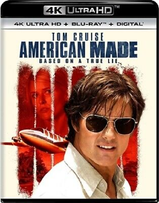 American Made 4K UHD 4K (used) Blu-ray Only Disc Please Read