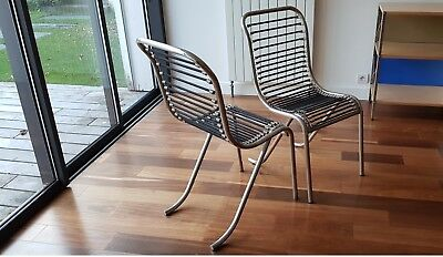 Set de 2 chaises Michel Duffet 1930