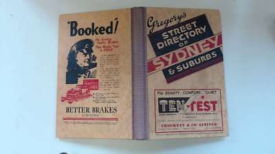 Good - Gregory's Street Directory of Sydney & Suberbs. Not stated 2006 Australia