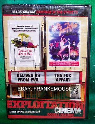 New Rare Oop Code Red Black Cinema Deliver Us From Evil The Fox Affair Movie Dvd