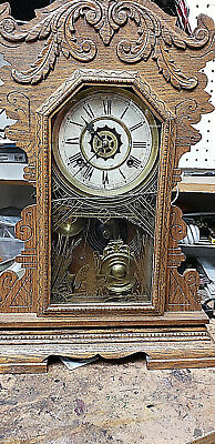 ANTIQUE CLOCK  BY Waterbury -clock -company