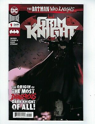 BATMAN WHO LAUGHS: THE GRIM KNIGHT # 1 (DC Comics, MAY 2019), NM NEW