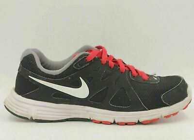8aacc7d064297 NIKE REVOLUTION 2 Men Running Training Shoes Size US 7.5 Black Red 554953 -016