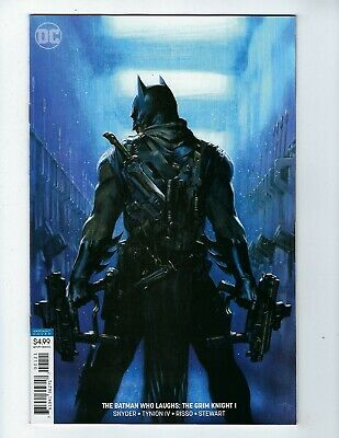 BATMAN WHO LAUGHS: THE GRIM KNIGHT # 1 (DELL'OTTO VARIANT, May 2019), NM NEW