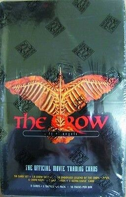 36 packs 1996 The Crow City Of Angels Movie Trading Card Factory box