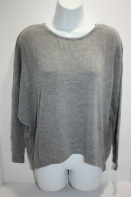 6ad4a6e1aa CUPSHE BEACH POOL Cover Up Shirt Solid Gray Women's Size S Small NEW ...