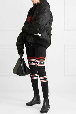 fd0c9572cd8 GIVENCHY Storm Over The Knee Black Thigh-High Rib Knit Sock Rubber Boot 8