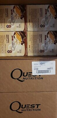 Quest Smores Lot Of 144 Protein Bars !!! 12 boxes of 12 bars !!  Please read !