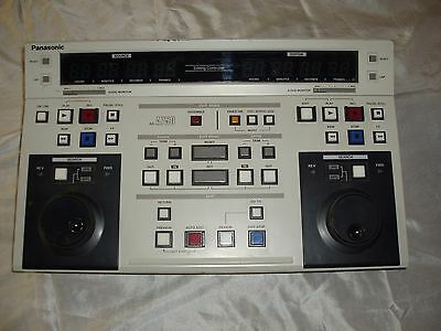 Panasonic AG-A750 Video Editing controller Dual Channel Excellent Condition