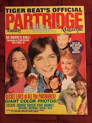1970 Partridge Family Magazine -VOL. 1, NO. 1 - FIRST ISSUE-Tiger Beat - TV Show