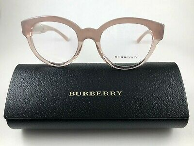 bf6f04fcea69 New Authentic Burberry Eyeglasses B 2209 3560 pink beige w case 51-20-140