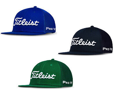 9ffbe7eb23a78 2019 Titleist Flat Bill Trend Golf Hat Adjustable Cap New - Select a Color