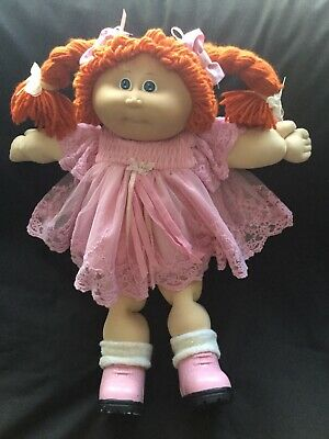 Cabbage Patch Kid Doll Dress Set. Pink Lace. No Doll.
