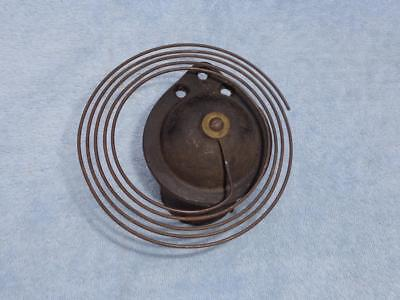 Gong Base Wire Coil Parlor Kitchen Beehive Cottage Shelf Mantle Clock Original