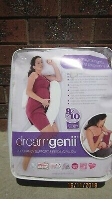 dreamgenii pregnancy support and breastfeeding pillow