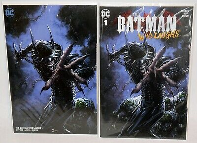 Batman Who Laughs #1 Clayton Crain Variant 3 Pack Virgin Set Nm UNREAD 1st Grim