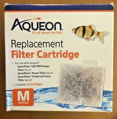 Aqueon Replacement Filter Cartridge M (6-pack) one missing